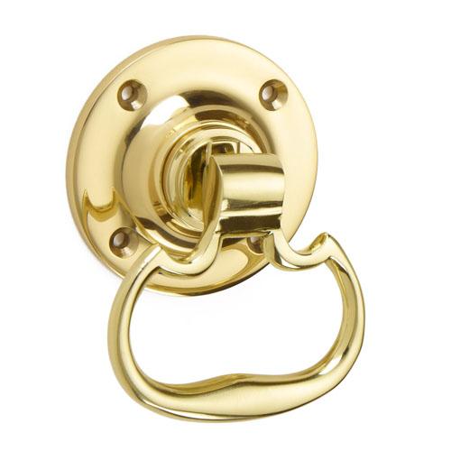 Croft 1718 Plain Dutch Ring Door Handle
