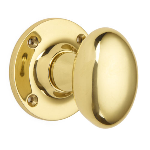 Mortice Door Knobs on Face Fixed Rose