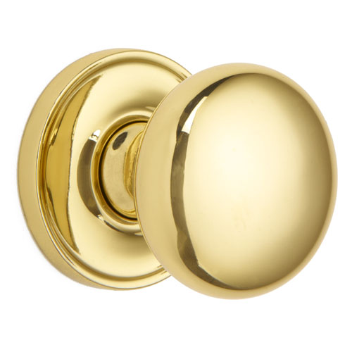 Croft 1757COV57B Pair Oval Mortice Door Knob Concealed Fix Rose