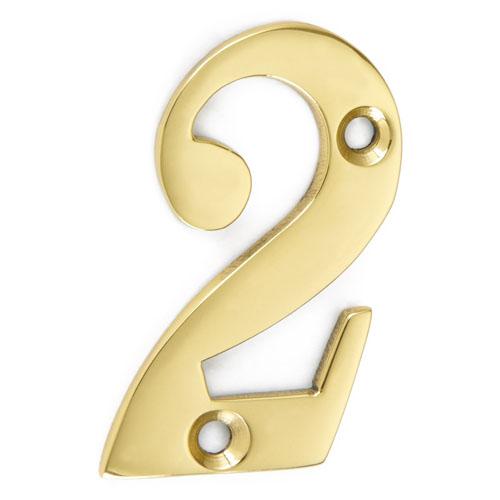"""Croft 1764 2"""" Traditional Cast Door Numbers"""