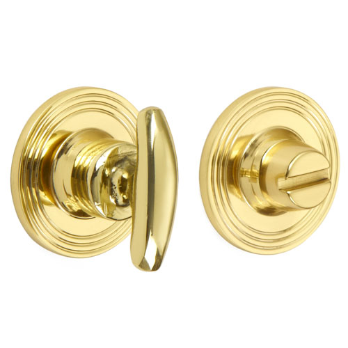Croft 2237 Curved Turn and Release on Reeded Covered Rose
