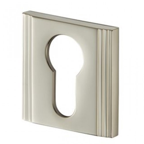 Contemporary 238 Square Straight Step Escutcheon