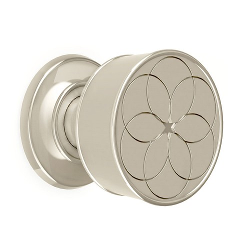 Croft Geo Mortice 60mm Door Knob on a Concealed Fix Rose