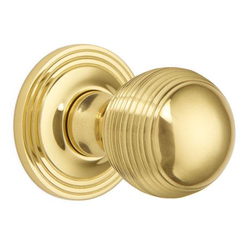 Croft 6346COV57C Pair Oval Mortice Door Knob Concealed Fix Rose