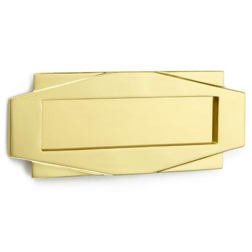 Croft 7014 Art Deco Letterplate