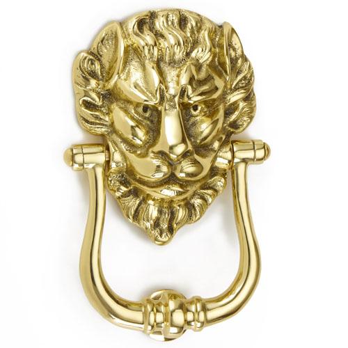 Croft 1768 Lions Head Door Knocker