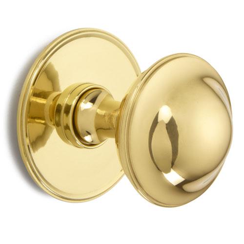 Croft 4175 Plain Round Centre Door Knob