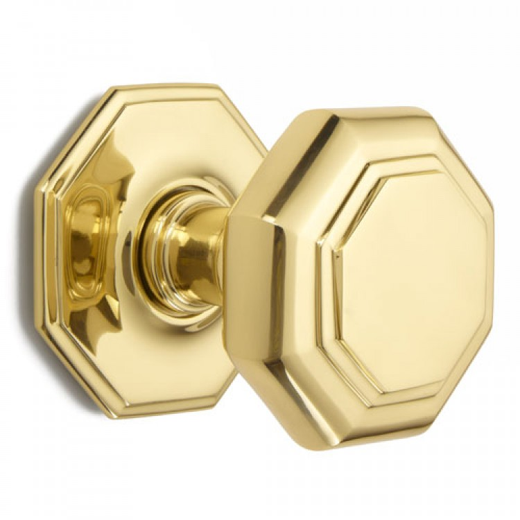 Croft 4185 Centre Front Door Knob Bronze Brass Chrome