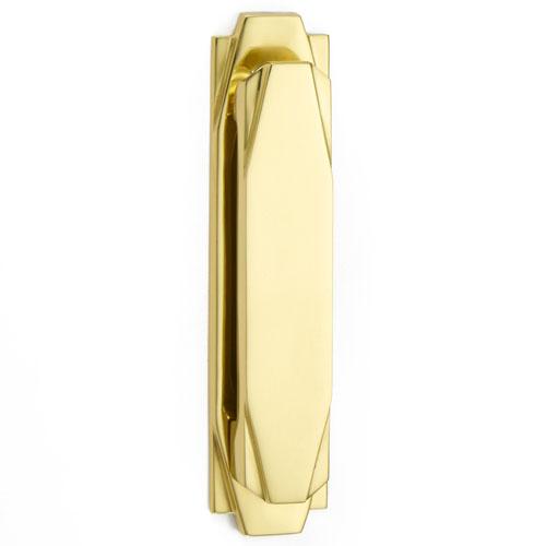 Croft 7012 Vertical Art Deco Door Knocker