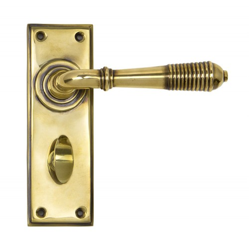 From the Anvil Reeded Lever Bathroom Set