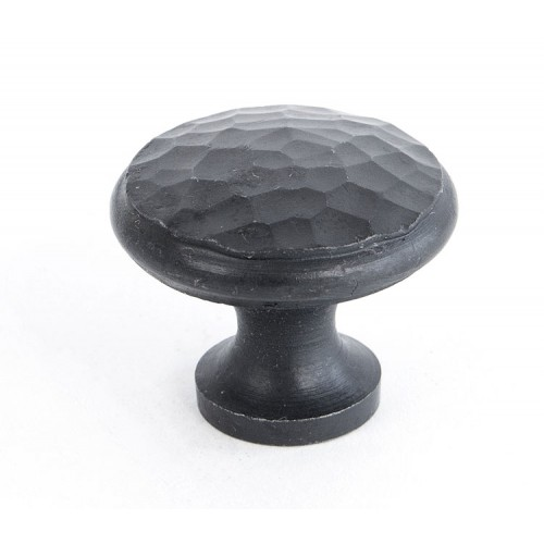 From the Anvil Beaten Cupboard Knob - Medium