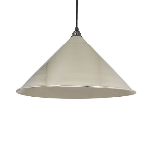 From the Anvil Hockley Pendant Nickel Ceiling Light