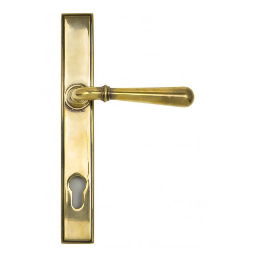 From the Anvil Newbury Slimline Sprung Lever Espag. Lock Set