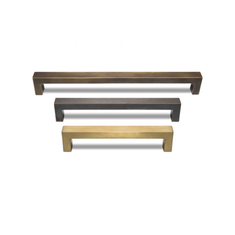 Square Cabinet Bar Handle For Kitchen Chrome Nickel