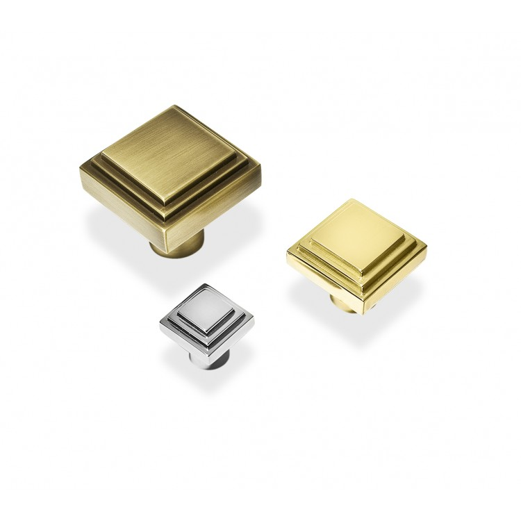 Sk3020 Square Deco Cabinet Handle Bronze Chrome Nickel