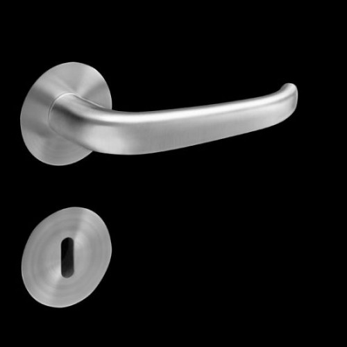 Plan-Design by Karcher Elba EPL22 Door Lever Handle on a Flush Rose