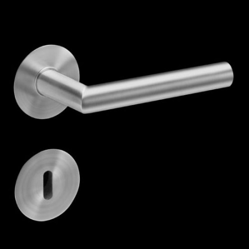 Plan-Design by Karcher Rhodes EPL28 Door Lever Handle on a Flush Rose