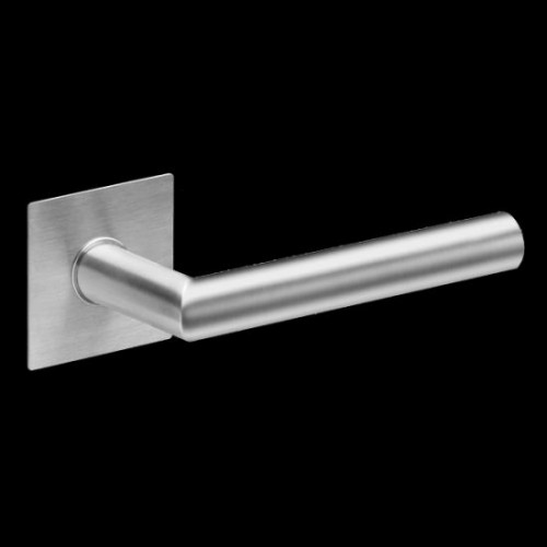Plan-Design by Karcher Rhodes EPL28Q Door Lever Handle on a Flush Rose