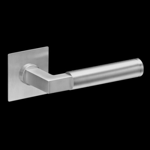 Plan-Design by Karcher Tasmania EPL31Q Door Lever Handle on a Flush Rose