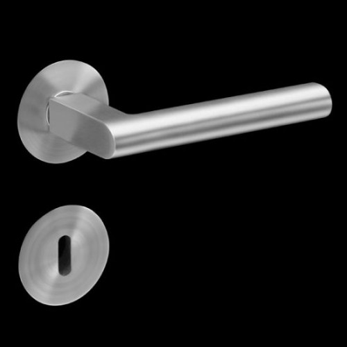 Plan-Design by Karcher Madeira EPL45 Door Lever Handle on a Flush Rose