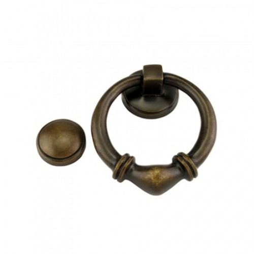 Louis Fraser Themes 764 Round Ribbed Door Knocker