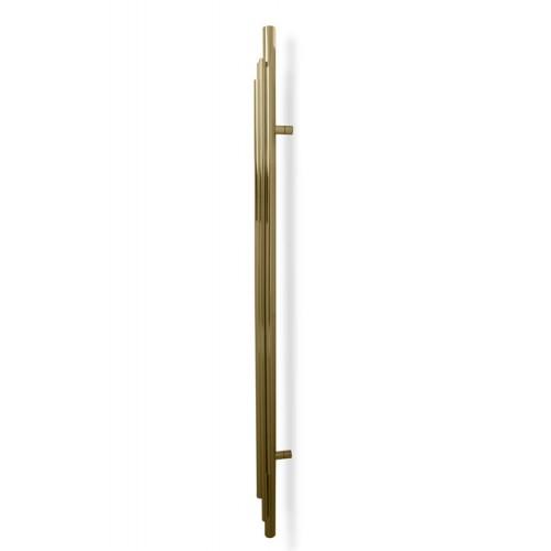 PullCast Twist Collection - Brubeck TW5001 Door Pull