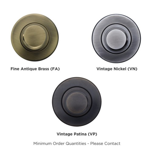 Turnstyle Designs Round Leather Flush Sliding Door Handle