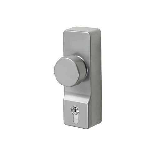 Panic Door Hardware  Euro Profile Included Knob Operated Outdoor Access Device (OAD)
