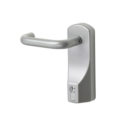 Panic Door Hardware  Euro Profile Cylinder Lever Operated Outdoor Access Device (OAD)