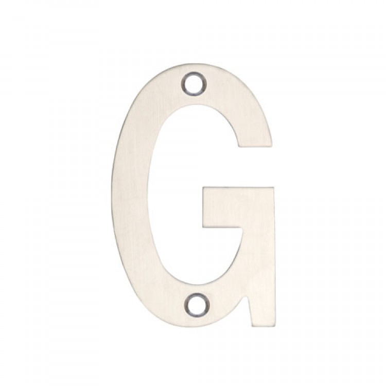 Stainless Steel Letter /'B/' for Doors 75mm by Zoo Hardware ZSNBSS75