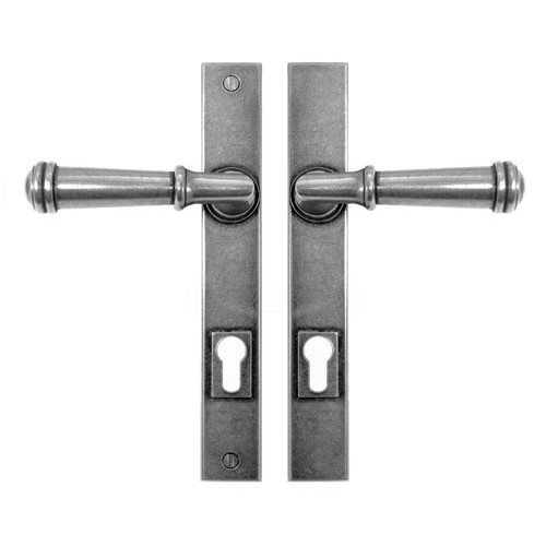 Finesse Design Durham Multipoint Entry Door Handle in Pewter
