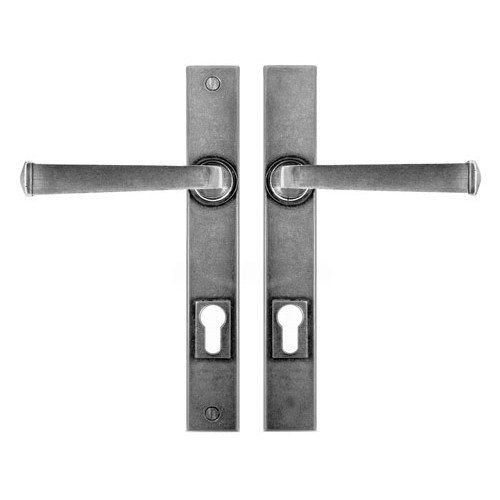 Finesse Design Allendale Multipoint Entry Door Handle in Pewter