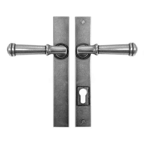 Finesse Design Durham Multipoint Patio Door Handle in Pewter