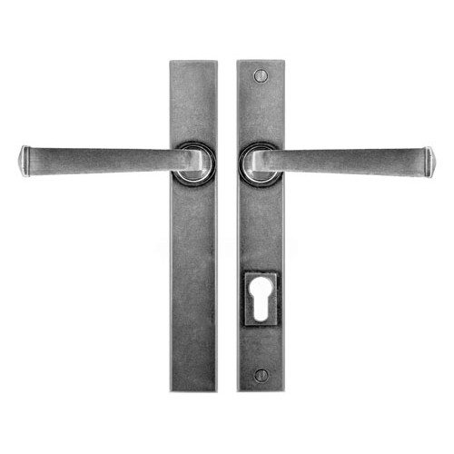 Finesse Design Allendale Multipoint Patio Door Handle in Pewter