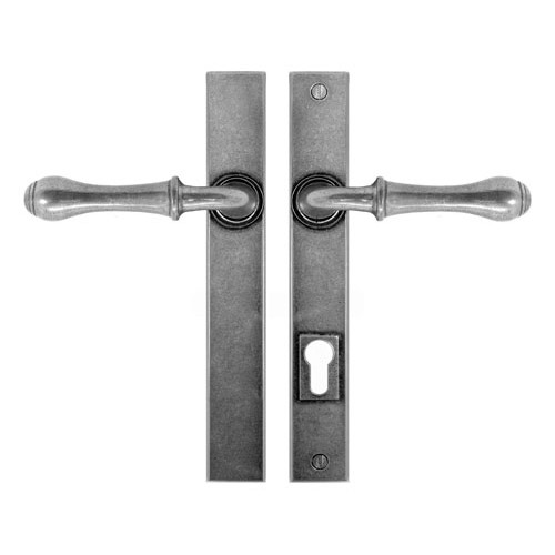 Finesse Design Derwent Multipoint Patio Door Handle in Pewter