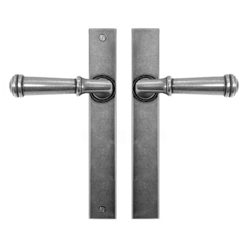 Finesse Design Durham Multipoint Passage Door Handle in Pewter