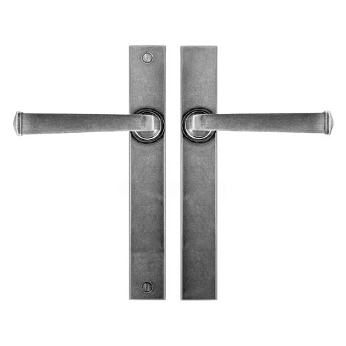 Finesse Design Allendale Multipoint Passage Door Handle in Pewter