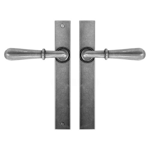 Finesse Design Fenwick Multipoint Passage Door Handle in Pewter