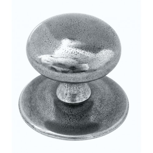Finesse Design Centre Door Knob in Pewter