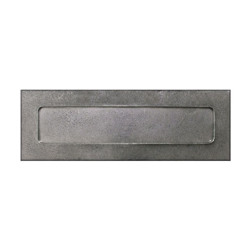 Finesse Design Letter Plate in Pewter