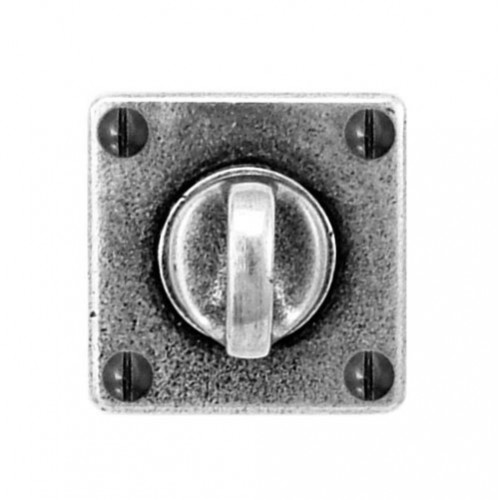 Finesse Design Square Thumb Turn & Release (Jesmond) in Pewter