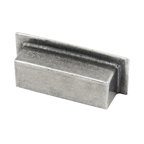 Finesse Design Healey Cabinet Cup Handle in Pewter