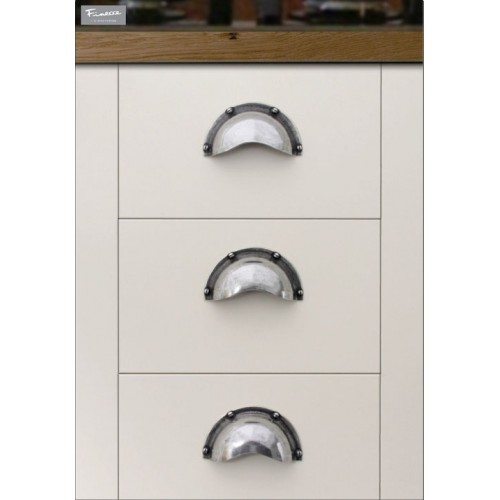 Pewter Cabinet Cup Handles