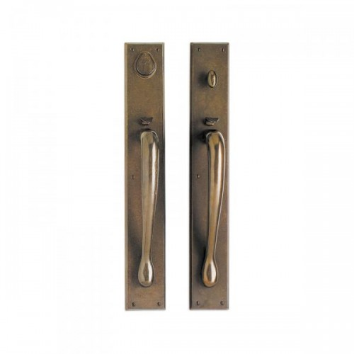 Rectangular Thumblatch Entry Set with Gooseneck Grip