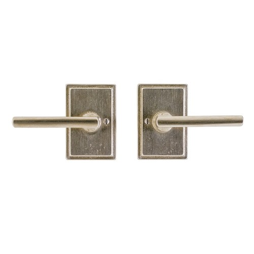 Rocky Mountain Hardware Handle on Stepped Plate