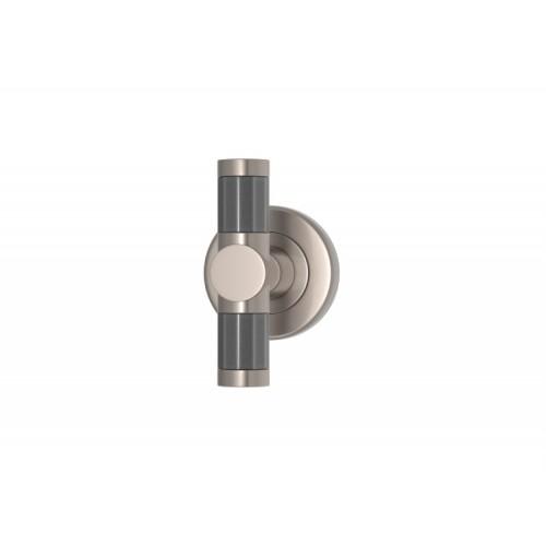 Recess Amalfine Faceted Barrel T Bar Handle