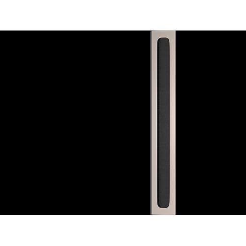 Turnstyle Designs C1959 Plain Flush Pull Black Leather