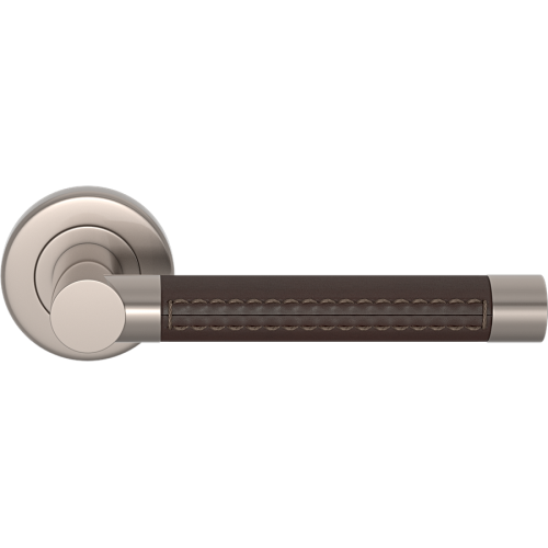 Contemporary Lever Handles on a Rose