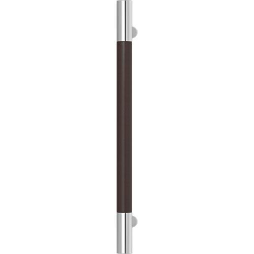 Turnstyle Designs Recess Leather Door Pulls Barrel (Stitch In) - 400mm