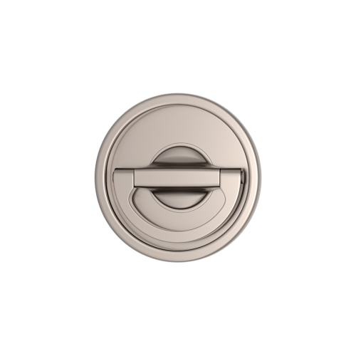 Turnstyle Designs S1954 Round Revolving Flush Pull